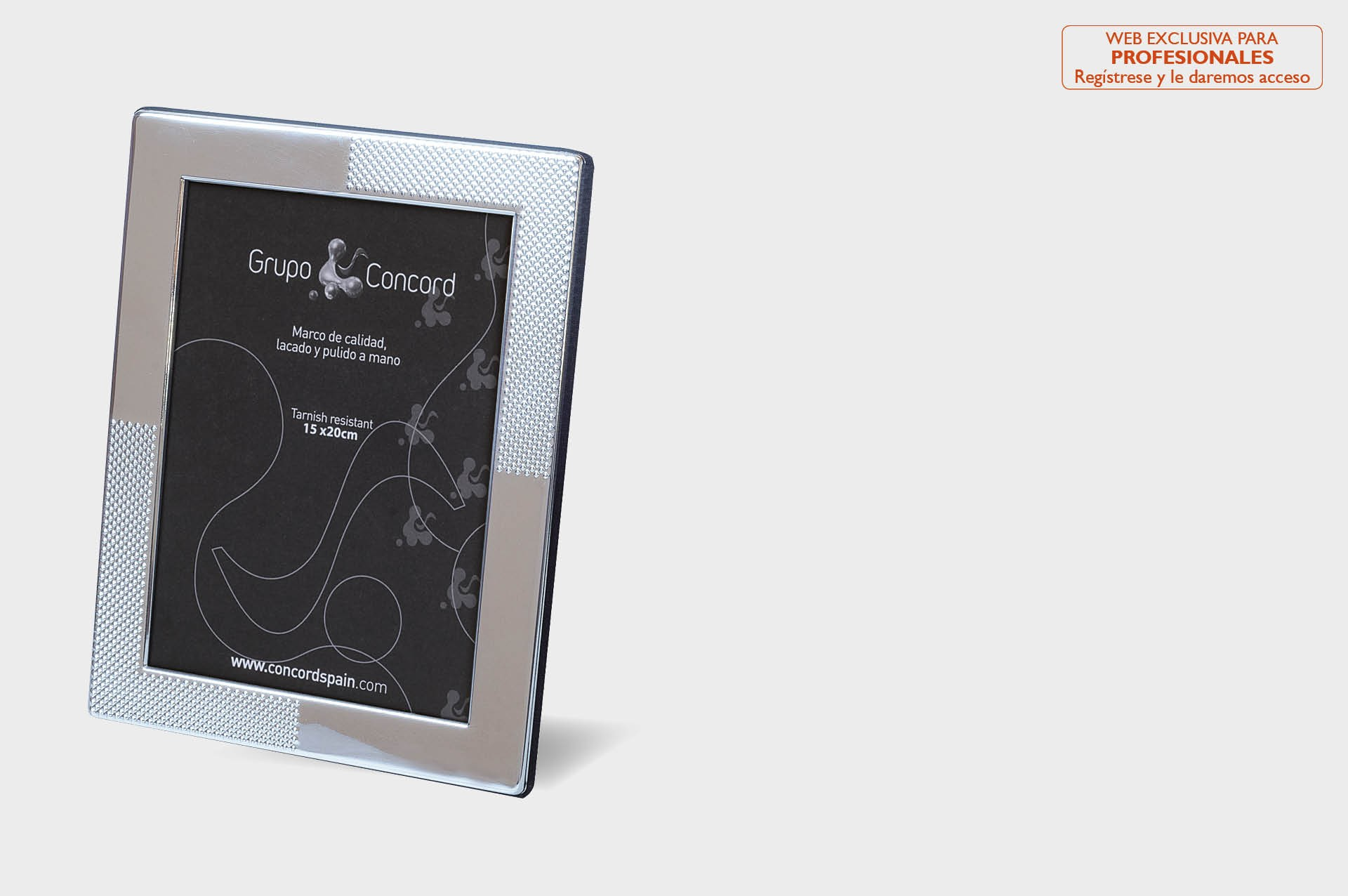 Silver palted photo frames