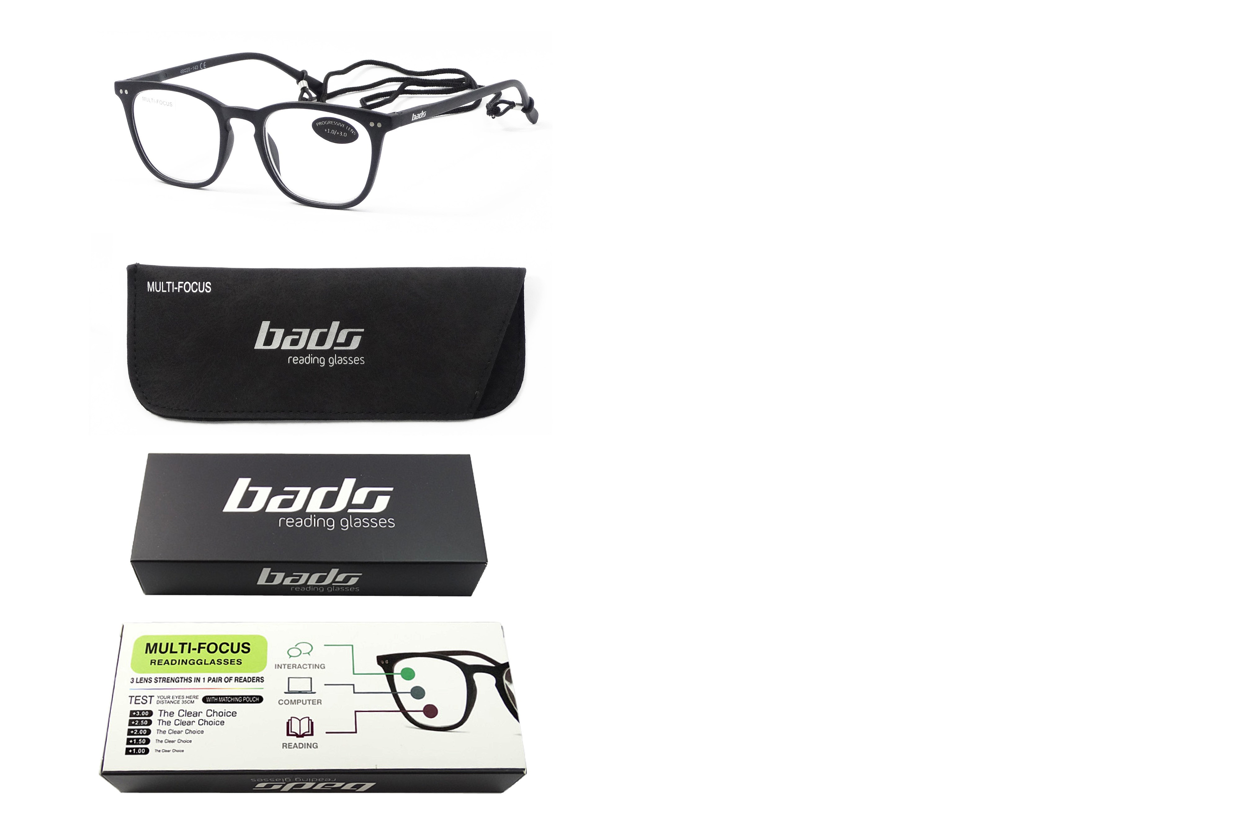 Cases for reading glasses