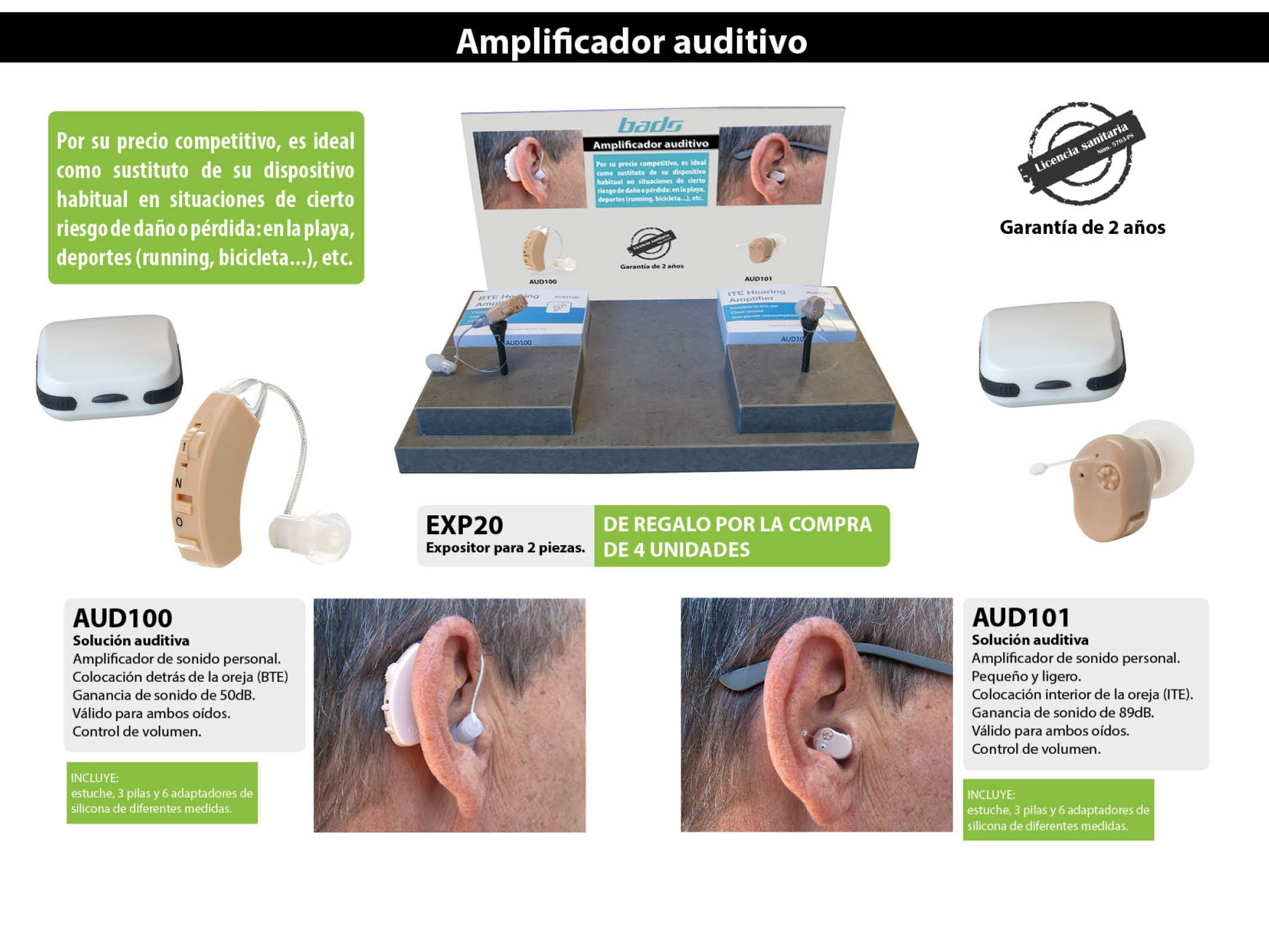 Amplificadores Auditivos